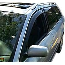 70007 Smoke Window Visor, Front, Driver and Passenger Side - Set of 2