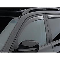 70345 Smoke Window Visor, Front, Driver and Passenger Side - Set of 2