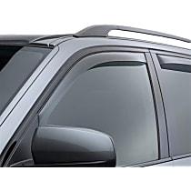 70437 Smoke Window Visor, Front, Driver and Passenger Side - Set of 2