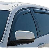 70477 Smoke Window Visor, Front, Driver and Passenger Side - Set of 2