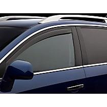 70828 Smoke Window Visor, Front, Driver and Passenger Side - Set of 2