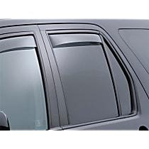 71296 Smoke Window Visor, Rear, Driver and Passenger Side - Set of 2