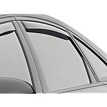 71703 Smoke Window Visor, Rear, Driver and Passenger Side - Set of 2