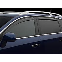 72703 Smoke Window Visor, Front and Rear, Driver and Passenger Side - Set of 4