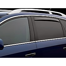 73501 Smoke Window Visor, Rear, Driver and Passenger Side - Set of 2