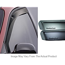 Smoke Window Visor, Front, Driver and Passenger Side - Set of 2