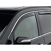80456 Smoke Window Visor, Front, Driver and Passenger Side - Set of 2