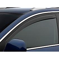 80468 Smoke Window Visor, Front, Driver and Passenger Side - Set of 2