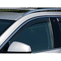 Smoke Window Visor, Front, Driver and Passenger Side - Set of 2