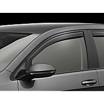 80721 Smoke Window Visor, Front, Driver and Passenger Side - Set of 2