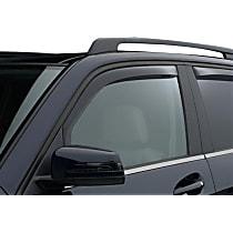 80766 Smoke Window Visor, Front, Driver and Passenger Side - Set of 2
