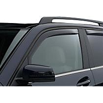 80777 Smoke Window Visor, Front, Driver and Passenger Side - Set of 2