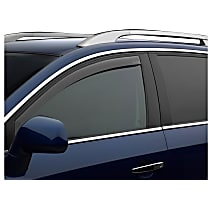 80785 Smoke Window Visor, Front, Driver and Passenger Side - Set of 2