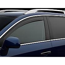 Dark Smoke Window Visor, Front, Driver and Passenger Side - Set of 2
