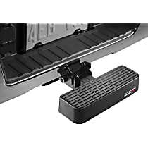 Weathertech 81BS1 Hitch Step - Black, Polycarbonate, Universal, Sold individually