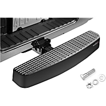 Weathertech 81BS1XL Hitch Step - Black, Polycarbonate, Universal, Sold individually