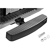 81BS1XLSK Hitch Step - Black, Polycarbonate, Universal, Sold individually