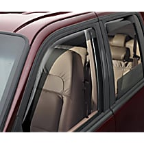 82275 Smoke Window Visor, Front and Rear, Driver and Passenger Side - Set of 4
