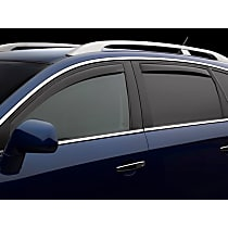 82301 Smoke Window Visor, Front and Rear, Driver and Passenger Side - Set of 4