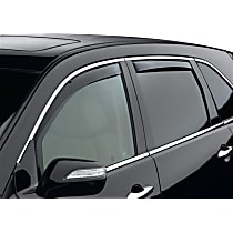 82456 Smoke Window Visor, Front and Rear, Driver and Passenger Side - Set of 4