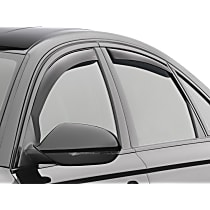 82703 Smoke Window Visor, Front and Rear, Driver and Passenger Side - Set of 4