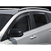 82736 Smoke Window Visor, Front and Rear, Driver and Passenger Side - Set of 4