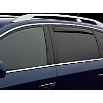85930 Dark Smoke Window Visor, Rear, Driver and Passenger Side - Set of 2