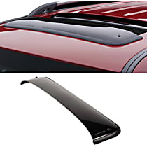 89012 Weathertech Sunroof Wind Deflector Direct Fit Smoked Acrylic Roof Air Deflector, Sold individually