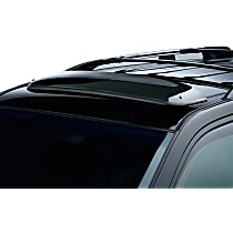 Weathertech Sunroof Wind Deflector 89064 Direct Fit Smoked Acrylic Roof Air Deflector, Sold individually