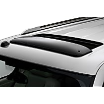 Weathertech Sunroof Wind Deflector Direct Fit Smoked Acrylic Roof Air Deflector, Sold individually
