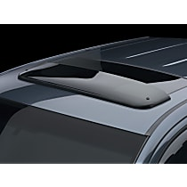Weathertech Sunroof Wind Deflector Direct Fit Tinted Acrylic Air Deflector, Sold individually