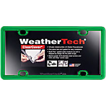 8ALPCC11 License Plate Frame - Kelly Green, Eastman Durastar Polymer, Universal, Sold individually