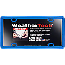 License Plate Frame - Blue, Eastman Durastar Polymer, Universal, Sold individually