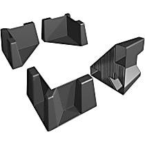 8CTK1 Cargo Organizer - Black, ABS Plastic, Universal