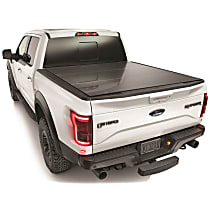 8HF010015 AlloyCover Hard Tri-Fold Series Folding Tonneau Cover - Fits Approx. 5 ft. 6 in. Bed