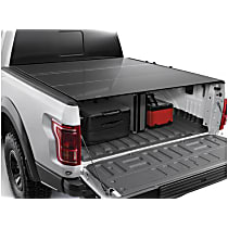 8HF010055 AlloyCover Hard Tri-Fold Series Folding Tonneau Cover - Fits Approx. 5 ft. Bed