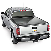 8HF020015 AlloyCover Hard Tri-Fold Series Folding Tonneau Cover - Fits Approx. 5 ft. 6 in. Bed