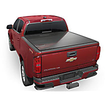 8HF020025 AlloyCover Hard Tri-Fold Series Folding Tonneau Cover - Fits Approx. 5 ft. Bed