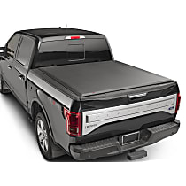 8HF020096 AlloyCover Hard Tri-Fold Series Folding Tonneau Cover - Fits Approx. 6 ft. 6 in. Bed