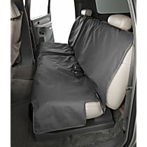 DE2011CH Seat Protector - Polycotton, Black, Sold individually