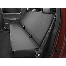 Weathertech DE2011CH Seat Protector - Polycotton, Black, Sold individually Second Row