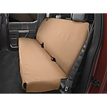 Weathertech DE2011TN Seat Protector - Polycotton, Gray, Sold individually Second Row