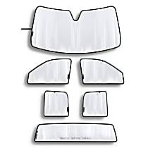 TS0005K1 Sun Shade - Reflective Silver, Reflective Film, Direct Fit, Kit