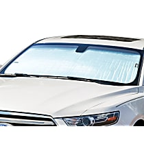 Weathertech TS0160 Sun Shade - Reflective Silver, Reflective Film, Direct Fit, Sold individually