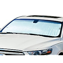 Weathertech TS0896 Sun Shade - Reflective Silver, Reflective Film, Direct Fit, Sold individually