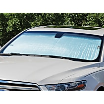 Weathertech TS1262 Sun Shade - Reflective Silver, Reflective Film, Direct Fit, Sold individually