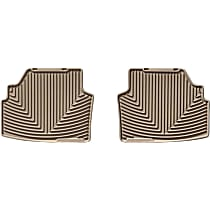 W142TN Tan Floor Mats, Second Row