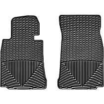 W156 Black Floor Mats, Front Row