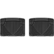 W20 Black Floor Mats, Second Row