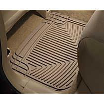 Tan Floor Mats, Second Row